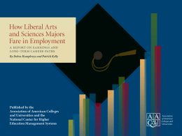 How Liberal Arts and Sciences Majors Fare in Employment
