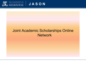 What is JASON? - Student Services