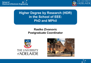 00 Information for Prospective Phd and Masters students