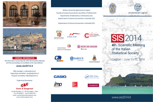 copertina sis - SIS Scientific Meeting 2014