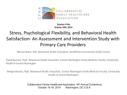 H4a - Collaborative Family Healthcare Association