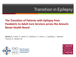 Transition in Epilepsy Services - The Association for Young People`s