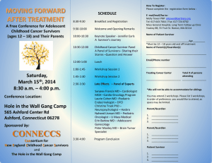 CONNECCS Survivorship Conference