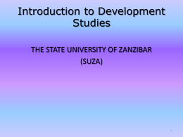 1293002136SUZA 01 Introduction to Development Studies