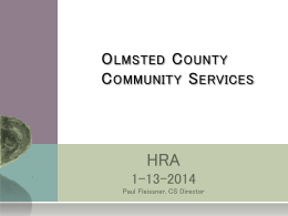 HRA 1/13/2014 - Olmsted County