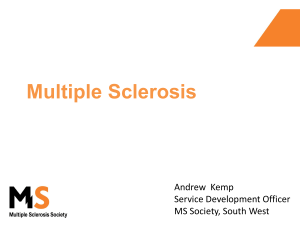 MS Society - Somerset Neurological Alliance