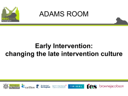 The Early Intervention Foundation