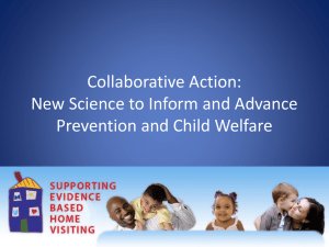New Science to Inform and Advance Prevention and Child Welfare