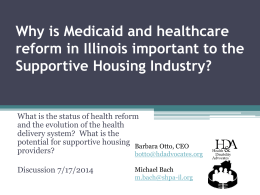 IL Medicaid_HC Delivery system final