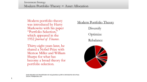Modern Portfolio Theory - Indelible Wealth Group