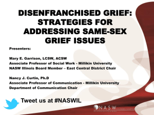 Strategies for Addressing Same-Sex Grief Issues (1