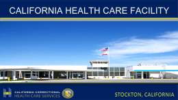 Stockton Facilty CDCR comp11.13 Fong - CA