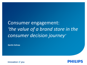 the value of a brand store in the consumer decision journey