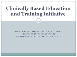 Linda Wilson (Clinically Based E&T W2)