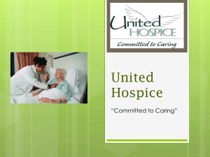 United Hospice Committed to Caring