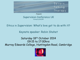 Dr Lynne Souter-Anderson - Severn Talking Therapy and