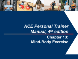 Personal Trainers and Mind