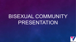 Bisexual Community Issues Presentation_May_2014_BiNetUSA