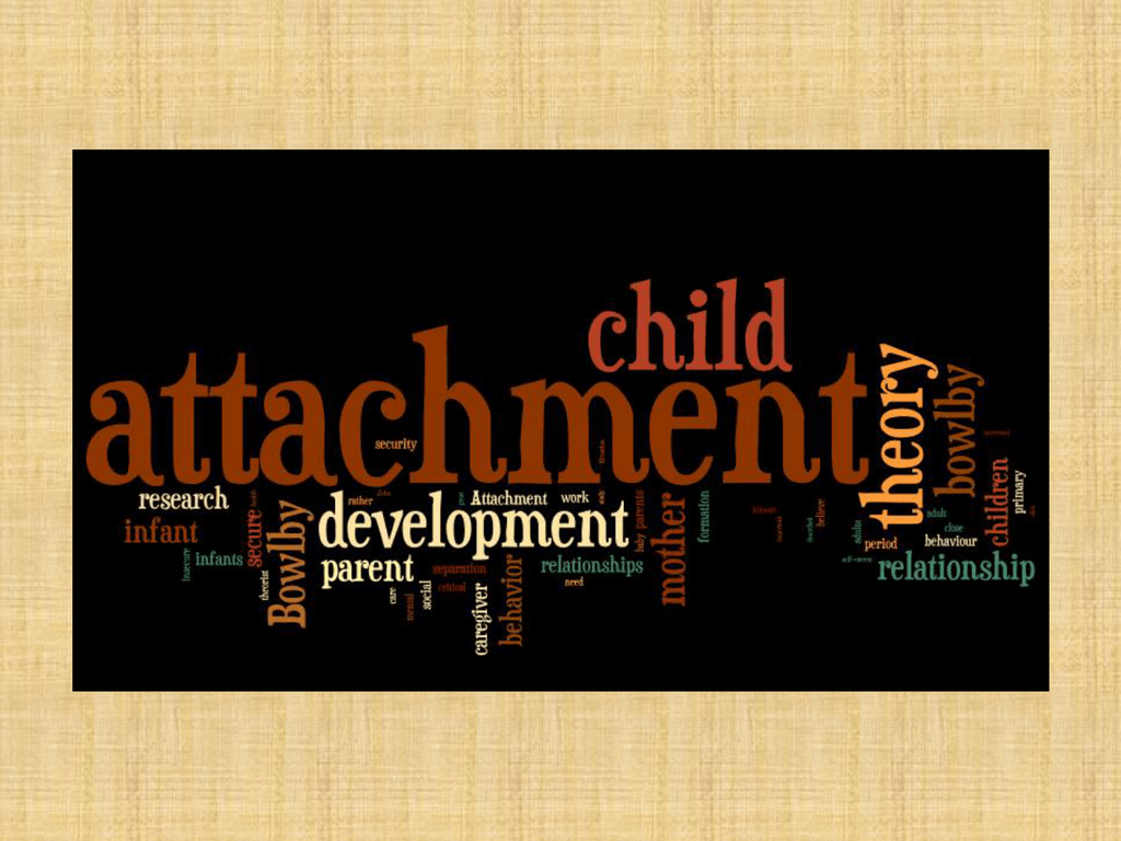 Attachment Theory Powerpoint-Sotelo