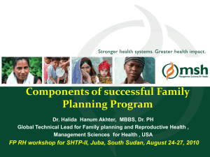 Components of Successful Family Planning Programs_0