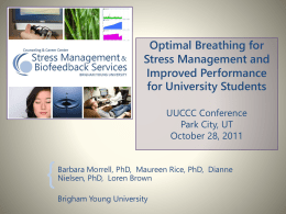 Finding Your Optimal Breath per Minute Rate