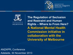 McSherry, B (2013) - Melbourne Social Equity Institute