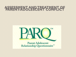 PARQ - Psychological Assessment Resources, Inc.