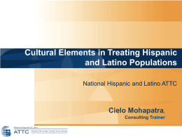 Hispanics and Latinos in the U.S.: Statistics, Health