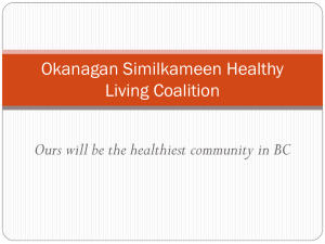 Okanagan Similkameen Healthy Living Coalition