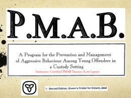 What is PMAB?