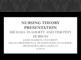 Nursing Theorist Presentation Final