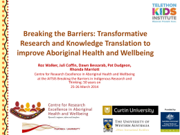 Transformative research and knowledge translation to