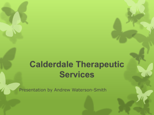 Calderdale Therapeutic Services