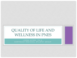 Quality of life and wellness in Psychogenic non