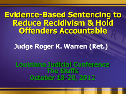 Evidence-based-Sentencing-LA-Power-Point