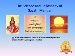 Gayatri_Mantra - Gayatri Pariwar of Long Island