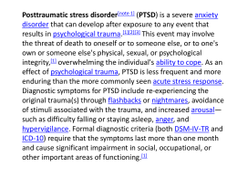 DSM-5 proposed diagnostic criteria changes