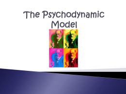 The Psychodynamic Model PPT (2)