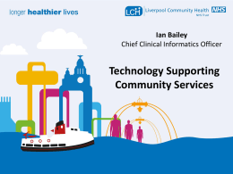 IAN Bailey Technology Supporting Community