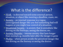 07 Anxiety Disorders