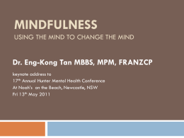 Mindfulness is much more than you think!
