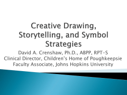 A Plethora of Projective Drawing, and Storytelling, Directed