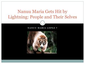 Nanuu Maria Gets Hit by Lightning: People and