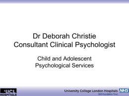 Deborah Christie - PowerPoint presentation