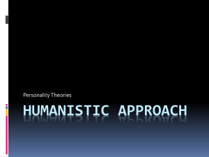 Humanistic Approach - Mounds View School Websites