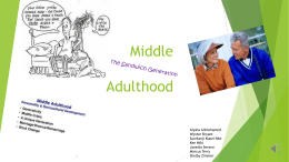 File - Middle Adulthood
