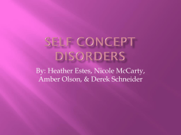 Self_Concept_Disorders - deafed-childabuse-neglect-col