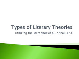 What is Critical Lens Theory?