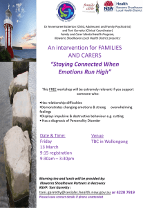 Staying Connected 13 March 2015