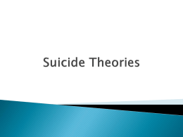 Suicidal Theories